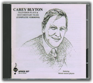 Carey Blyton: Film and Television music (4/4) CD