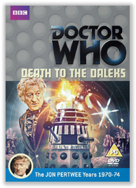 Doctor Who: Death to the Daleks DVD: BBCDVD 3483